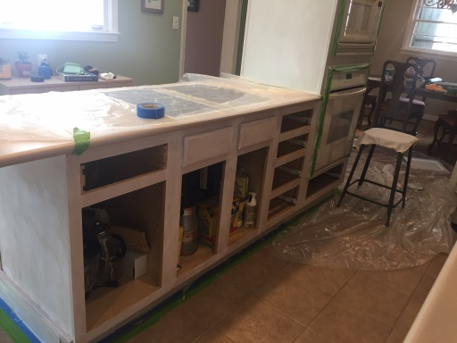 cabinets during 7