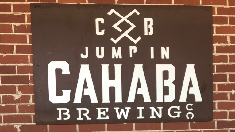 cahaba jump in sign