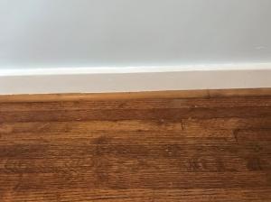 guest bedroom floor fixed