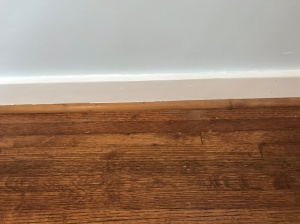 guest bedroom floor fixed