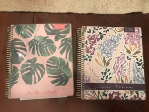 2018 and 2019 planners